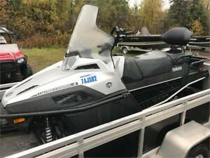 SLED & TRAILER PACKAGE! 2016 YAMAHA VK PRO + ALCOM  LOW KMS !