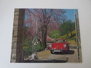 "1965 Porsche Showroom Poster - Original ""Springtime"""