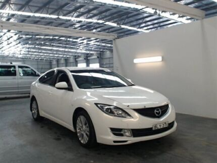 2009 Mazda 6 GH Classic White 5 Speed Auto Activematic Hatchback