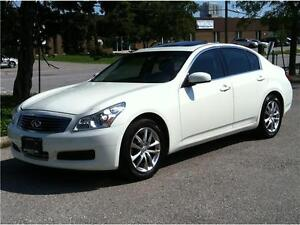 2008 INFINITI G35x PREMIUM PKG |LEATHER|ROOF|BLUETOOTH|116,000KM