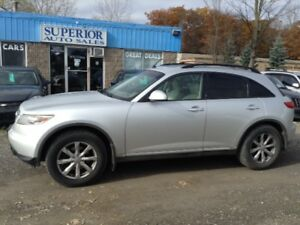 2007 INFINITI FX35 Fully Certified! Located in St. Catharines!