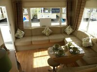 Luxury Caravan Holiday Home For Sale BORTH Nr Aberystwyth Mid Wales - OPEN 12 MONTHS!