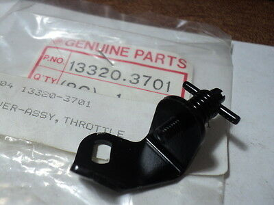 1986-88 KAWASAKI JS300 JS 300 SX THROTTLE LEVER ASSEMBLY NOS OEM P/N 13320-3701