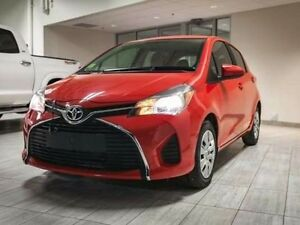 2015 Toyota Yaris LE, Hatchback, Touch Screen, Bluetooth, AUX/US Edmonton Edmonton Area image 1