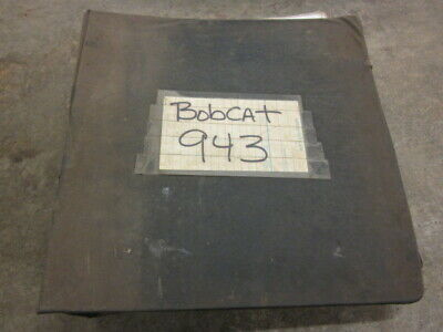 Bobcat 943 Factory Parts Service Manual