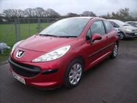PEUGEOT 207 S - FULL SERVICE HISTORY, Red, Manual, Petrol, 2007