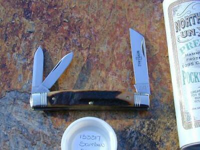 GREAT EASTERN GEC NORTHFIELD STAG CONGRESS WHITTLER KNIFE RARE 1/49 MIT 133317