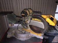 "Dewalt 12"" inch double compound sliding miter saw DW708"