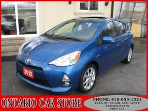 2012 Toyota Prius C TECH PKG. NAVIGATION LEATHER SUNROOF