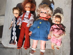 60,s and 70,s  dolls