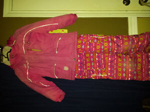 Jupa Kids Girl snow suit, Pants go right up to chest (fleece) London Ontario image 1