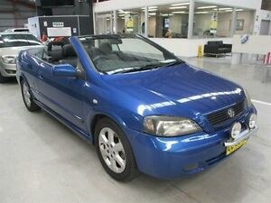 2003 Holden Astra TS MY03 Blue 4 Speed Automatic Convertible Maryville Newcastle Area Preview