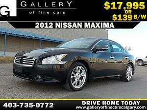 2012 Nissan Maxima $139 BI-WEEKLY APPLY NOW DRIVE NOW