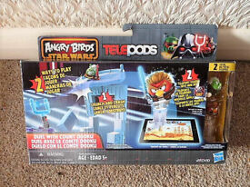 ANGRY BIRDS STAR WARS Telepods, Duel With Count Dooku