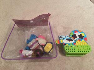 Doc McStuffin and Alex Bath toys