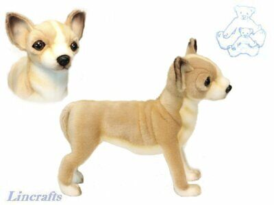 Hansa Standing Chihuahua 6295 Plush Soft Toy Sold by Lincrafts Established 1993