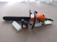 chainsaw brand new with 20 inch blade