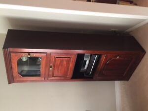 Solid Cherry Entertainment Cabinet