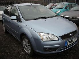 FORD FOCUS 2.0 GHIA D 5d 136 BHP TOP OF THE RANGE - HEATED LE (blue) 2007