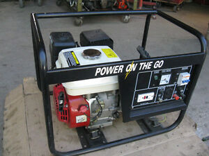 1800 Watt 120/240 Volt Generator ,Power On The Go