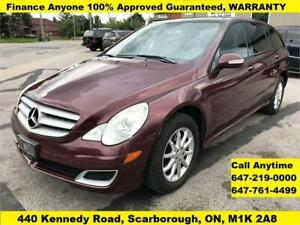 2006 Mercedes-Benz R-Class AWD R350 113,603 KM FINANCE WARRANTY
