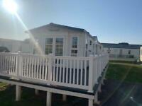 USED CARAVAN FOR SALE IN CLACTON WITH DECKING & FREE 2021 FEES