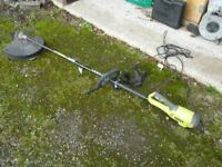 Electric grass strimmer and brush cutter