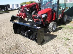 """NEW 56"""" PTO Snowblower for TYM T254 with Electric Chute and Defl"""
