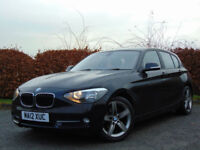 BMW 1 SERIES 1.6 116I SPORT 5d (black) 2012