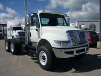 2016 International 7400 6x4, New Cab & Chassis