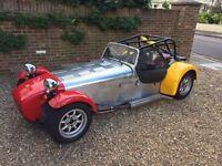 Caterham 7 Classic, Vauxhall 1600cc, 1999, 9,183 miles, MOT 10/17, Caterham Classic Graduates series