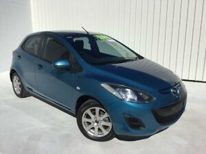 2013 Mazda 2 DE10Y2 MY13 Neo Blue 5 Speed Manual Hatchback Mundingburra Townsville City Preview