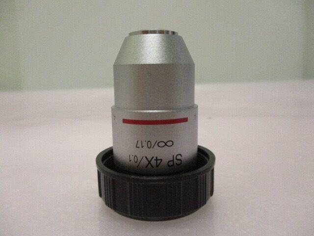 SP 4X/0.1, ?/0.17, 4X Objective Lens, Microscope 408793