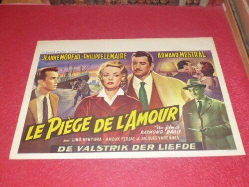 Cinema Poster Eo Belgian Trap Of L