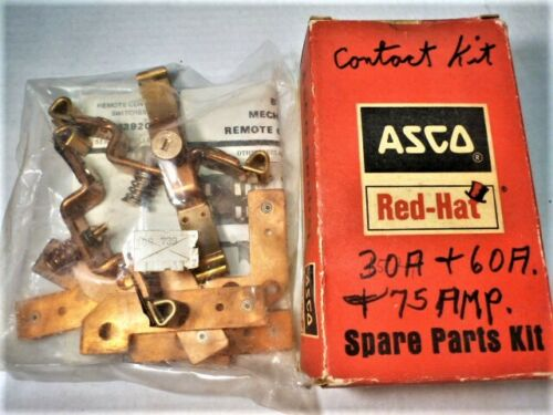 106739 ASCO B4 Switch CONTACT POLE Spare Parts KIT - 30A & 60A 75 AMP