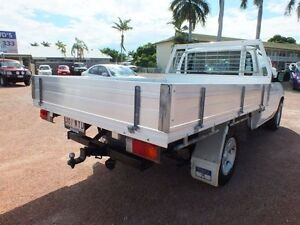 2007 Mazda BT-50 DX Cool White 5 Speed Manual Cab Chassis Rosslea Townsville City Preview