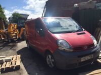 Nissan Primastar 6 seater van 2005 80'000 miles on new engine