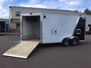 NEW 2019 XPRESS 7.5' x 19' ALL-SPORT SNOWMOBILE TRAILER