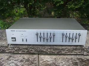 JAPAN 1970s GRAPHIC EQUALIZER  teac ge6 analogue vintage Rhodes Canada Bay Area Preview