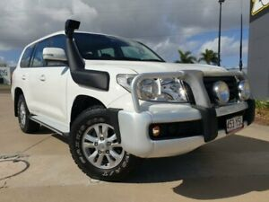 2012 Toyota Landcruiser VDJ200R MY10 GXL White 6 Speed Sports Automatic Wagon Garbutt Townsville City Preview