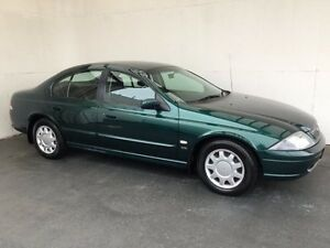 2001 Ford Falcon AU III Forte Green 4 Speed Automatic Sedan Mount Gambier Grant Area Preview