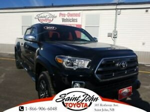2017 Toyota Tacoma Limited V6, Nav, Brown Leather, Fully Loaded!