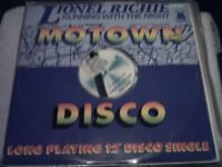 Vinyl 12in 45 Lionel Richie - Running With The Night Disco Mix / Serves You Right Disco