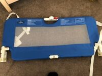 Baby Start Portable Bed Rail, Blue
