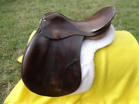 "18"" Tudor English Saddle"