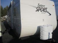 2010 Supersport 31 BHDS bunk room