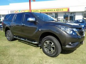 2015 Mazda BT-50 UP0YF1 XTR Brown 6 Speed Sports Automatic Utility Kippa-ring Redcliffe Area Preview
