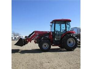 New TYM T554 HSTCAB - 55 HP Ranch Tractor w. Cab & Front Lo