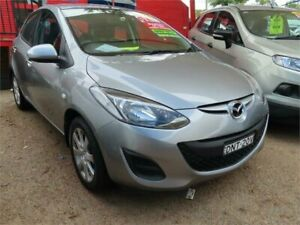 2014 Mazda 2 DE10Y2 MY14 Neo Sport Silver 5 Speed Manual Hatchback Minchinbury Blacktown Area Preview