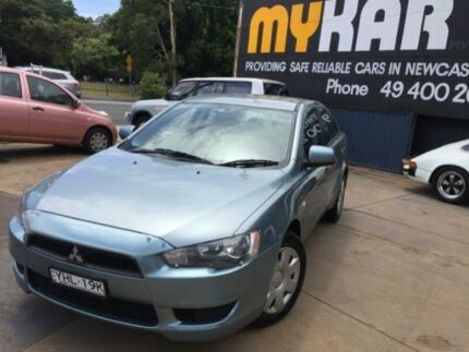 2009 Mitsubishi Lancer CJ MY09 ES Green 5 Speed Manual Sedan Islington Newcastle Area Preview